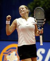 20031212, Rotterdam, LSI Masters, Tessy van de Ven verslaat Ketelaars en plaatst zich voor de halve finale