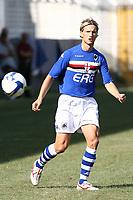 Stankevicius Sampdoria<br /> La Spezia 16/08/2008 Calcio <br /> Siena Sampdoria <br /> Foto Insidefoto