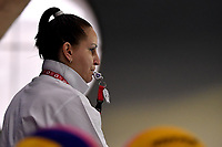 Referee <br /> Greece GRE - Kazakhstan KAZ <br /> Trieste (Italy) 19/01/2021 Bruno Bianchi Aquatic Center <br /> Fina Women's Water Polo Olympic Games Qualification Tournament 2021 <br /> Photo Andrea Staccioli / Deepbluemedia / Insidefoto