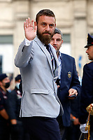 Daniele De Rossi during the visit of the Italian National team at Palazzo Chigi, where the athletes met the Italian Premier after winning the UEFA Euro 2020 cup.<br /> Rome (Italy), July 12th 2021<br /> Photo Samantha Zucchi Insidefoto