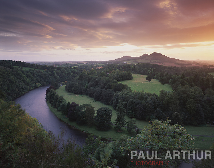 Scottish Borders in late summer