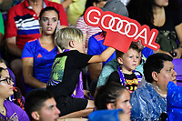 Orlando, FL - Wednesday July 31, 2019:  Fans during an Major League Soccer (MLS) All-Star match between the MLS All-Stars and Atletico Madrid at Exploria Stadium.