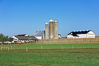 Amish farm, New Holland, Lancaster, Pennsylvania, USA