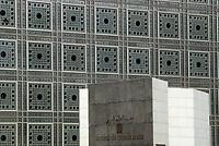 Europe/France/Ile-de-France/75005/Paris: L'Institut du Monde Arabe - Architectes: P. Nouvel, P. Soria et G. Lezenes