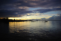 Pier on Suriname River Leonsberg