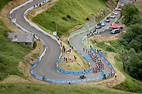 grupetto up Luz Ardiden<br /> <br /> Stage 18 from Pau to Luz Ardiden (130km)<br /> 108th Tour de France 2021 (2.UWT)<br /> <br /> ©kramon