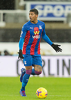 2nd February 2021; St James Park, Newcastle, Tyne and Wear, England; English Premier League Football, Newcastle United versus Crystal Palace; Patrick van Aanholt of Crystal Palace looks for support from team mates