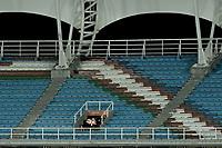 CALI - COLOMBIA, 25-01-2020: América de Cali y Alianza Petrolera en partido por la fecha 1 de la Liga BetPlay DIMAYOR I 2020 jugado en el estadio Pascual Guerrero de la ciudad de Cali. / America de Cali and Alianza Petrolera in match for the for the date 1 as part of BetPlay DIMAYOR League I 2020 played at Pascual Guerrero stadium in Cali. Photo: VizzorImage / Gabriel Aponte / Staff