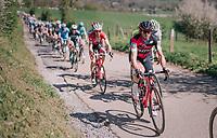Simon Gerrans (AUS/BMC) up La Redoute<br /> <br /> 82nd Flèche Wallonne 2018 (1.UWT)<br /> 1 Day Race: Seraing - Huy (198km)