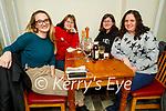 Roberta Girdler, Lyndle Grobe, Constance Mascola and Rebecca Dulla enjoying the evening in Bella Bia on Friday