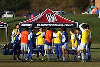 DA U-13/U-14 Eastern Regional Showcase, October 29, 2016