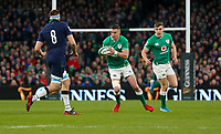 Saturday 1st February 2020 | Ireland vs Scotland<br /> <br /> Jonathan Sexton during the 2020 6 Nations Championship   clash between Ireland and Scotland at he Aviva Stadium, Lansdowne Road, Dublin, Ireland. Photo by John Dickson / DICKSONDIGITAL