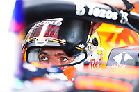 10th September, September 2021; Nationale di Monza, Monza, Italy; FIA Formula 1 Grand Prix of Italy, Free practise and qualifying for sprint race: F1 Grand Prix of Italy 33 Max Verstappen NED, Red Bull Racing