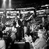 Boston, Massachusetts.USA.July 26, 2004..The opening night of the Democratic National Convention in Boston. .