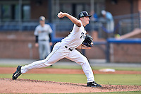 Asheville Tourists starting pitcher Ryan Castellani (6) delivers a pitch during a game against the Charleston RiverDogs on June 30, 2015 in Asheville, North Carolina. The RiverDogs defeated the Tourists 10-4. (Tony Farlow/Four Seam Images)