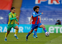 13th March 2021; Selhurst Park, London, England; English Premier League Football, Crystal Palace versus West Bromwich Albion;  Jairo Riedewald of Crystal Palace is chased by Matheus Pereira of West Bromwich Albion