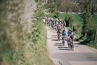 peloton up La Redoute<br /> <br /> 82nd Flèche Wallonne 2018 (1.UWT)<br /> 1 Day Race: Seraing - Huy (198km)