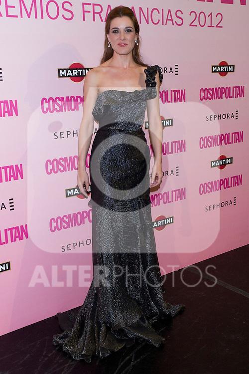 21.05.2012. Cosmopolitan Fragrance Awards 2012 at the Teatro Häagen-Dazs Calderón in Madrid. In the picture: Raquel Sanchez Silva (Alterphotos/Marta Gonzalez)