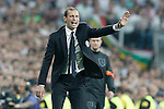 Juventus' coach Massimiliano Allegri during Champions League 2014/2015 Semi-finals 2nd leg match.May 13,2015. (ALTERPHOTOS/Acero)