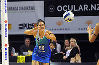 Sulu Fitzpatrick in action during the ANZ Premiership netball match between Central Pulse and Northern Mystics at TSB Bank Arena in Wellington, New Zealand on Monday, 10 May 2021. Photo: Dave Lintott / lintottphoto.co.nz