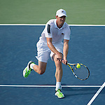 Sam Querrey (USA) defeats Michael Russell (USA) 6-4, 6-3 at the CitiOpen in Washington, D.C., Washington, D.C.  District of Columbia on July 29, 2014.