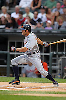 Detroit TIgers designated hitter Johnny Damon during a game vs. the Chicago White Sox at U.S. Cellular Field in Chicago, Illinois August 13, 2010.   Chicago defeated Detroit 8-4.  Photo By Mike Janes/Four Seam Images