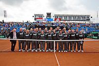 16-09-12, Netherlands, Amsterdam, Tennis, Daviscup Netherlands-Suisse, Umpires