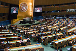 USA<br /> <br /> General Assembly Seventy-first session, 33rd plenary meeting<br /> 1. Report of the International Court of Justice [item 70] (a) Report of the International Court of Justice (A/71/4) (b) Report of the Secretary-General (A/71/339) <br /> 2. Organization of work, adoption of the agenda and allocation of items: second report of the General Committee (A/71/250/Add.1) [item 7] <br /> 3. Programme planning: report of the Fifth Committee (A/71/545) [item 135]<br /> 4. Review of the efficiency of the administrative and financial functioning of the United Nations; Report on the activities of the Office of Internal Oversight Services: report of the Fifth Committee (A/71/548) [items 133 and 144]