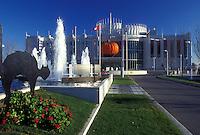 AJ0851, Canada, casino, Quebec, Hull, Halloween decorations at Casino de Hull in Hull.