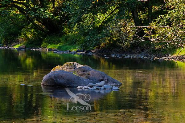 Sol Duc River.  Olympic Peninsula, WA.  Sept.