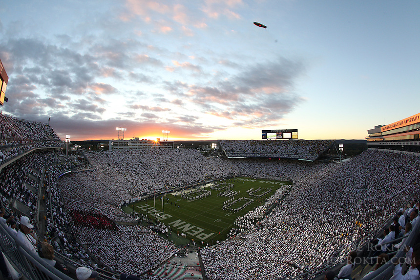 October 12, 2013: PSU defeats Michigan 43-40 in 4OT on Homecoming at Beaver Stadium