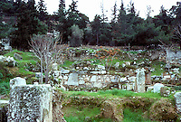 Athens: Ancient Agora, excavation. Photo '82.