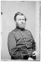 [Between 1860 and 1865][Portrait of Maj. Gen. Ulysses S. Grant, officer of the Federal Army].<br /> Brady National Photographic Art Gallery (Washington, D.C.), photographer
