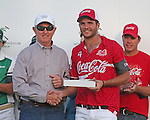 WELLINGTON, FL - FEBRUARY 19: Julian de Lusarreta of Coca Cola is MVP, Coca Cola 9 defeats Tonkawa 8 in overtime with a Golden Goal on a Penalty 2 by Julio Arellano, at the International Polo Club, Palm Beach on February 19, 2017 in Wellington, Florida. (Photo by Liz Lamont/Eclipse Sportswire/Getty Images)