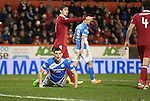 Aberdeen v St Johnstone…10.12.16     Pittodrie    SPFL<br />Graham Cummins reacts to his missed chance<br />Picture by Graeme Hart.<br />Copyright Perthshire Picture Agency<br />Tel: 01738 623350  Mobile: 07990 594431