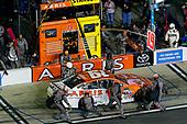 2017 NASCAR Monster Energy Cup - Can-Am Duels<br /> Daytona International Speedway, Daytona Beach, FL USA<br /> Thursday 23 February 2017<br /> Daniel Suarez, ARRIS Toyota Camry pit stop<br /> World Copyright: Russell LaBounty/LAT Images<br /> ref: Digital Image 17DAY2rl_02827