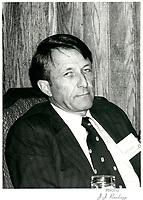 File Photo  -  David Culver<br /> ' president Alcan, March 1st 1979.<br /> <br /> PHOTO : JJ Raudsepp  - Agence Quebec presse
