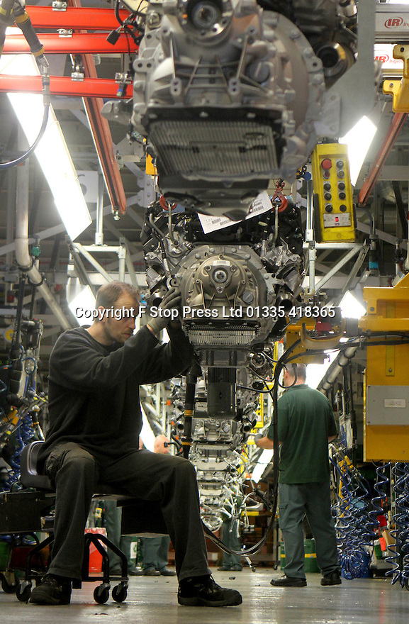 24/11/15 FILE PHOTO<br /> <br /> Jaguar Land Rover are set to hire hundreds of workers as it plans to double the size of its site near Wolverhampton.