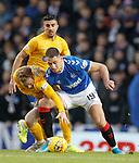 26.12.2019 Rangers v Kilmarnock: Rory McKenzie and Nikola Katic