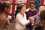 Education Elementary outside at play yard grades 2-3