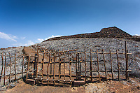 A gate at Pu'ukohola Heiau on the Big Island.