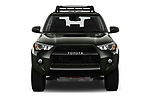 Car photography straight front view of a 2020 Toyota 4Runner TRD-Pro 5 Door SUV Front View