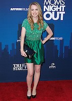 """HOLLYWOOD, LOS ANGELES, CA, USA - APRIL 29: Abbie Cobb at the Los Angeles Premiere Of TriStar Pictures' """"Mom's Night Out"""" held at the TCL Chinese Theatre IMAX on April 29, 2014 in Hollywood, Los Angeles, California, United States. (Photo by Xavier Collin/Celebrity Monitor)"""