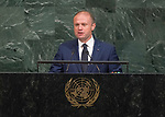 72 General Debate – 22 September <br /> <br /> by His Excellency Joseph Muscat, Prime Minister of the Republic of Malta