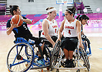 Rosalie Lalonde and Tamara Steeves, Lima 2019 - Wheelchair Basketball // Basketball en fauteuil roulant.<br />