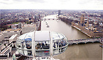 A view from the British Airways London Eye taken April 2,2004.(Dave Rossman/Special to the Chronicle)