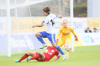 19.10.2014: 1. FFC Frankfurt vs. Bayer 04 Leverkusen