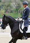 April 23, 2021:#69 Tsetserleg TSF and rider Boyd Martin finish in 4th place in the 5* Dressage  at the Land Rover Three Day Event at the Kentucky Horse Park in Lexington, KY on April 23, 2021.  Candice Chavez/ESW/CSM