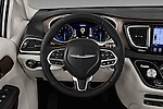 Car pictures of steering wheel view of a 2017 Chrysler Pacifica Touring-L-Plus 5 Door Minivan Steering Wheel