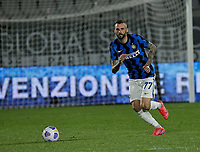 Marcelo Brozovic of Inter  during the  italian serie a soccer match,Spezia Inter Milan at  the STadio Picco in La Spezia Italy ,